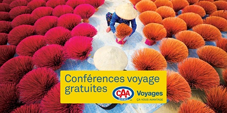 Conférence Voyages CAA-Québec à Sherbrooke billets