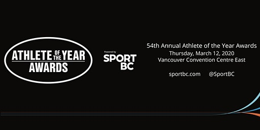 54th Annual Sport BC Athlete of the Year Awards