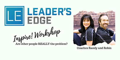 Leader's Edge May Inspire! Workshop