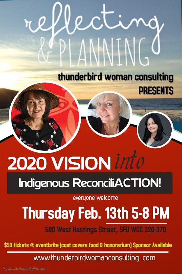 2020 Vision into Indigenous ReconciliACTION! image