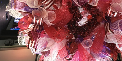 R Bar Valentine Wreath Making Class