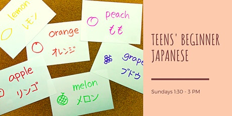 Teens' Beginner Japanese tickets