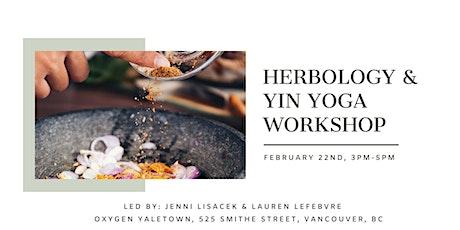 Herbology & Yin Yoga Workshop tickets