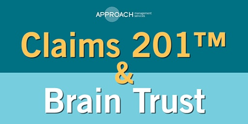 Claims 201­™ & Brain Trust - Lacey Apr 16th
