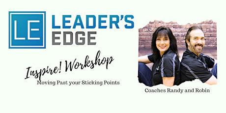 Leader's Edge August Inspire! Workshop tickets