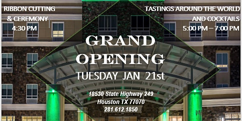 Grand Opening / Ribbon Cutting ~ Holiday Inn & Suites and Conference Center