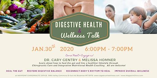 Digestive Health & Wellness Talk