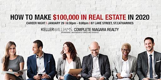 Niagara Career Night | How To Make $100,000 In Real Estate