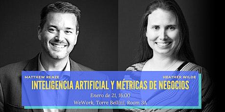 """""""Inteligencia artificial"""" y """"Métricas de negocios"""" (en inglés y español) entradas"""