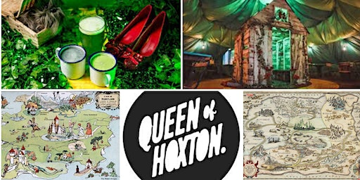 M.Y.O x Queen of Hoxton - Illustrated Map - Wizard of Oz themed
