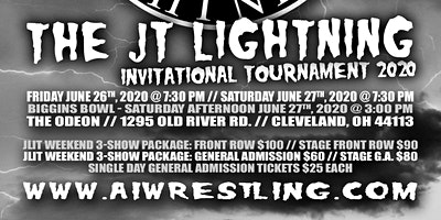 "Absolute Intense Wrestling Presents ""JLIT 2020 Weekend"""