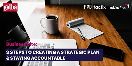 Business Bite: 3 steps to creating a strategic plan & staying accountable tickets