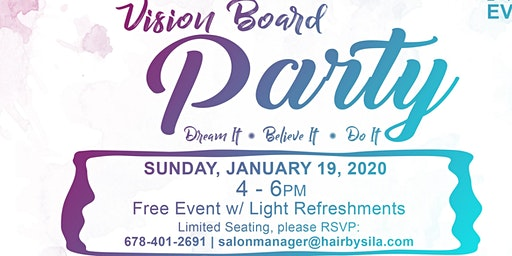 Sila's 2nd Annual Vision Board Party