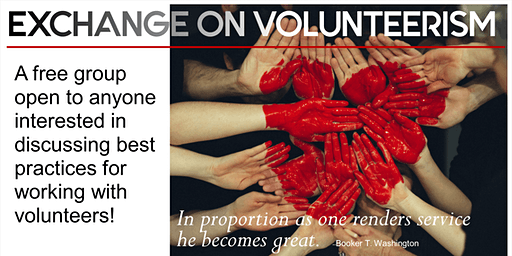 Preventing & Managing Volunteer Burnout: February 2020 Leadership Exchange on Volunteerism Meeting