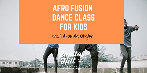 Afro Fusion Dance Class for Kids Aged 4-6