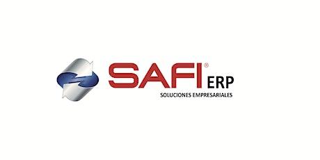 Taller Refuerzo SAFI ERP entradas