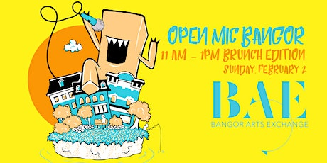 OpenMic: Bangor - Brunch Edition tickets