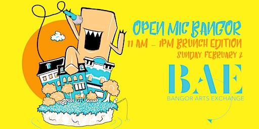 OpenMic: Bangor - Brunch Edition