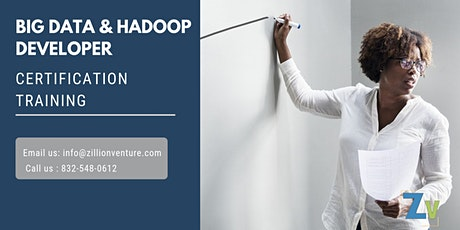 Big Data and Hadoop Developer Certification Training in Harbour Grace, NL tickets