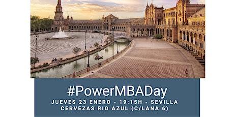 PowerMBAday Sevilla 23 de enero en Cervezas Rio Azul entradas
