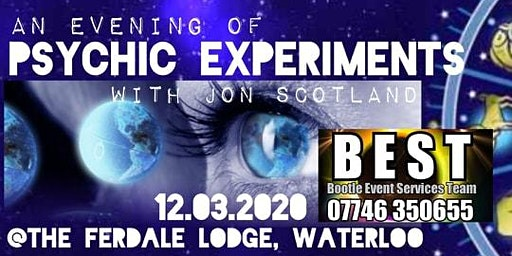 An Evening of Psychic Experiments with Jon Scotland