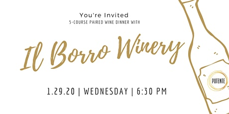 Il Borro Wine Dinner tickets
