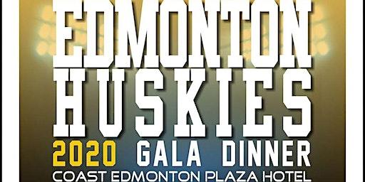 Edmonton Huskies Scholarship Foundation 2020 Gala Dinner