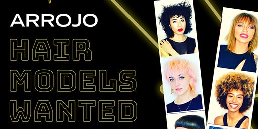 Seeking female models for ARROJO hair brand event
