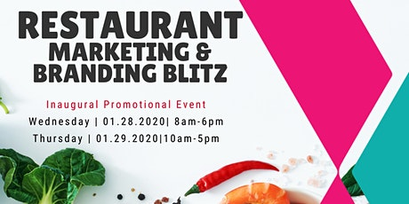 Get your restaurant ready to thrive in 2020 during our Restaurant Marketing tickets