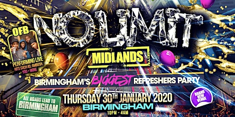 No Limit Midlands - OFB Performing Live tickets