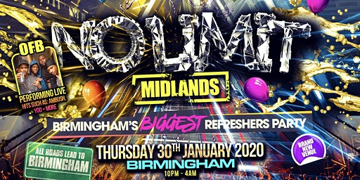 No Limit Midlands - OFB Performing Live