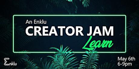 Enklu's Creator Jam - Learn from a Panel of AR Creators tickets