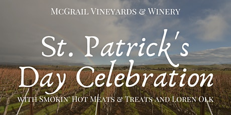 St. Patrick's Day Celebration at McGrail with Loren Olk and Smokin' Hot Meats & Treats tickets