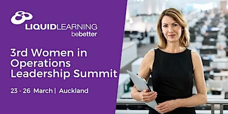 3rd Women in Operations Leadership Summit tickets