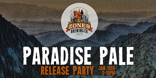 ZONE 9 Brewing Company (Paradise Pale - Beer Release Party)