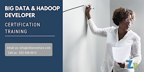 Big Data and Hadoop Developer Certification Training in Saint-Hubert, PE billets