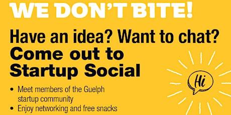 Startup Social tickets