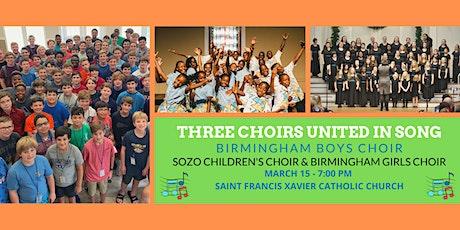 Birmingham Boys Choir with Sozo Children's & Birmingham Girls Choirs tickets