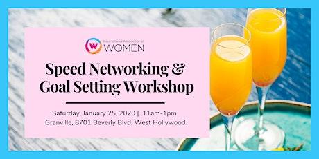 January Social: IAW-LA Speed Networking & Goal Setting Brunch tickets
