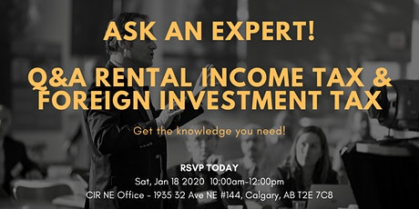 Q&A Rental Income Tax & Foreign Investment Tax tickets