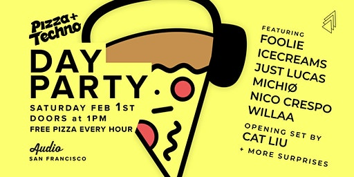 Pizza and Techno at AUDIO SF: Beats By the Slice 2020