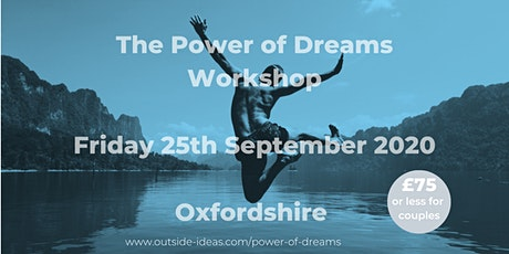 The Power of Dreams Workshop - September 2020 tickets