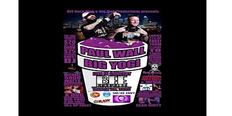 Paul Wall & Big Yogi live In Concert  tickets