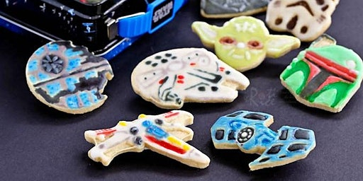 Star Wars Cookie Decorating