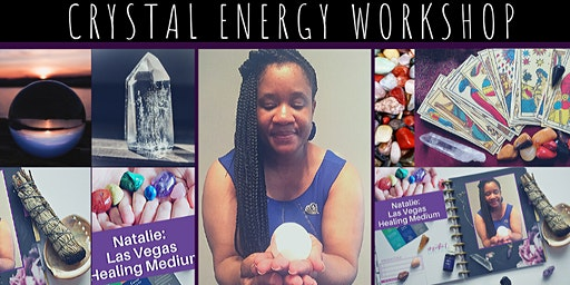 CRYSTAL ENERGY WORKSHOP FOR WOMEN ((An Introduction To Crystals)