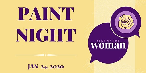 Year of the Woman Paint Night