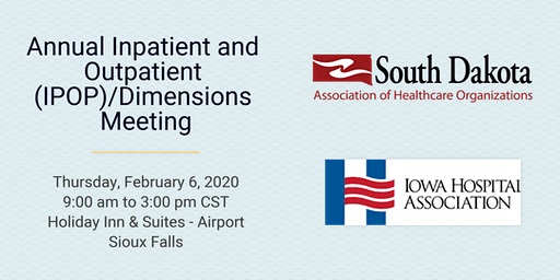 SDAHO Annual and Inpatient and Outpatient Dimensions Meeting