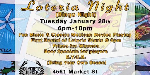 Loteria Night! (Bingo Night) 1.28.20