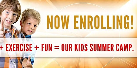 Three weeks of Summer Camp PLUS Free registration tickets