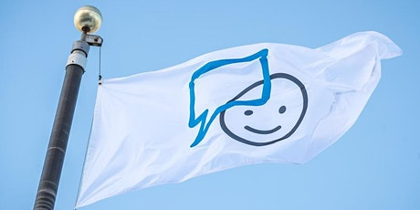 Lever de drapeau pour la santé mentale billets